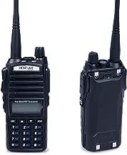 HESENATE HT-UV82 Dual PTT Dual Band Two-Way Radio VHF 2M UHF 70cm Amateur 5-Watt Hand held Transceiver (HAM)