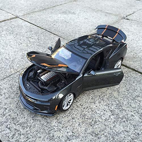 DSWS Aleación presión fundición Coche Modelo Kit 1:18 para Chevrolet para Camaro Proporcional Simulación De Fundición Minea Modelo Modelo Coche Coche De Juguete para Niños.