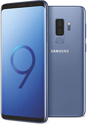 Samsung. Galaxy S9 Plus + 64GB Unlocked Coral Blue (Renewed/Reacondicionado)