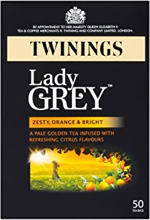Twinings Lady Grey Tee - 50 Beutel x 4 - 4-er Pack