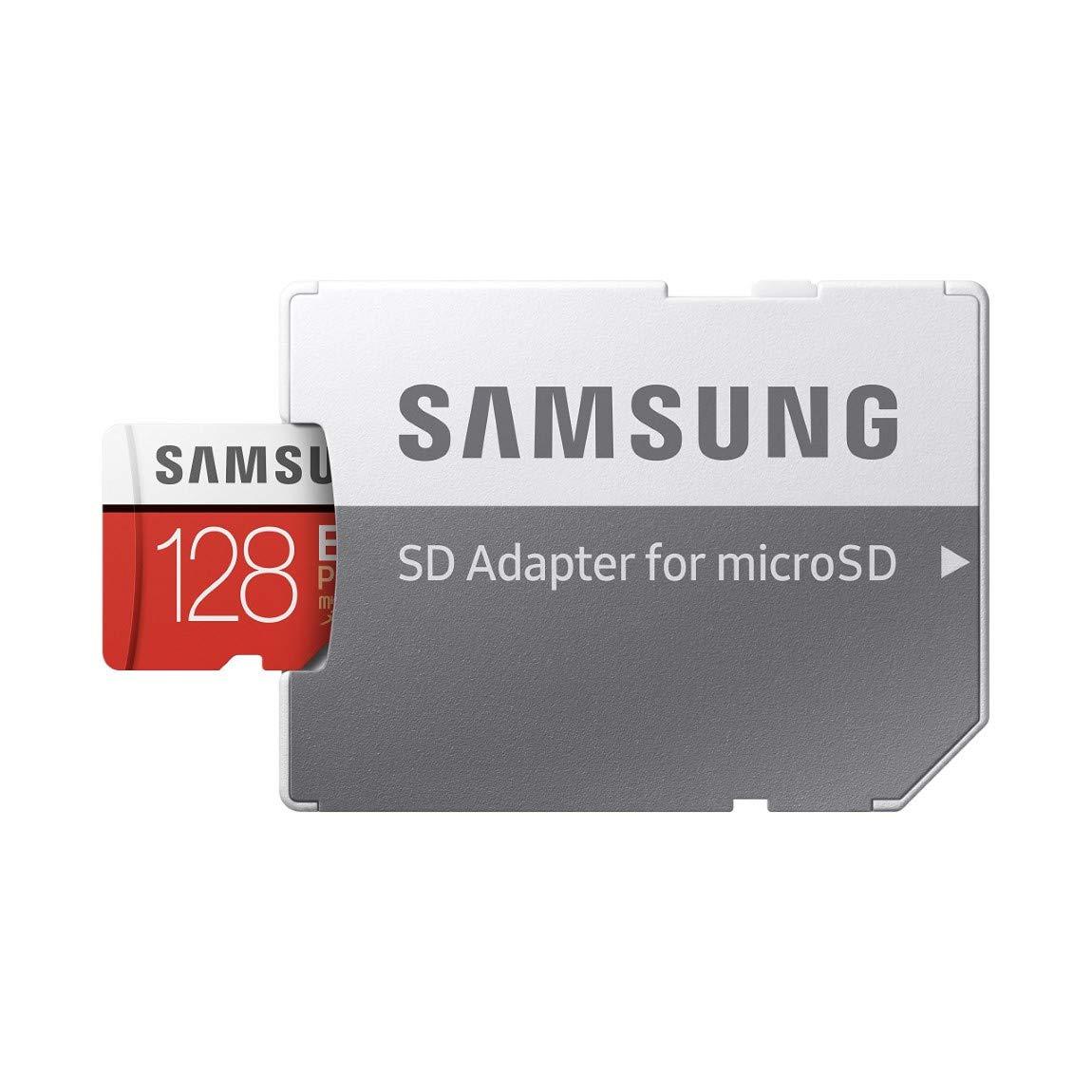 SAMSUNG 128GB EVO Plus Class 10 Micro SDXC with Adapter (MB-MC128GA)
