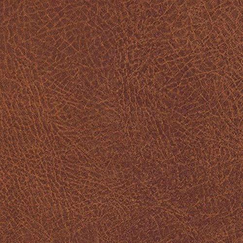 ecosoul Wachstuchtischdecke Leather Meterware braun Mokka marmoriert Leder Look abwaschbar Outdoor Tischdecke Breite 140 cm Länge wählbar (100 cm)