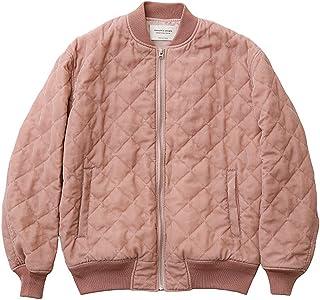[ビューティフルピープル]beautiful people 17-18A/W クラッシュベルベットキルティングMA-1 pink