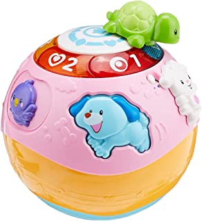 VTECH Wiggle N Crawl Ball, Pink