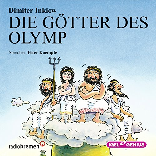 Die Götter des Olymp audiobook cover art