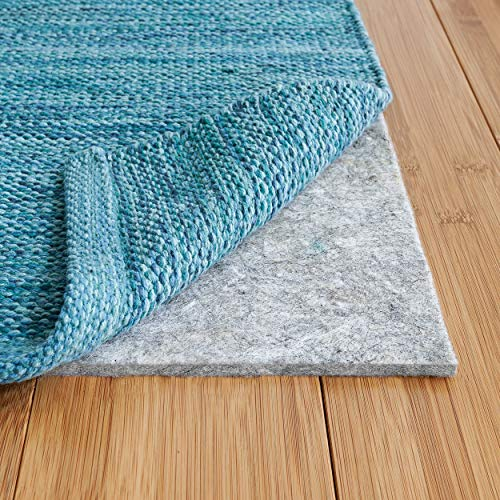RUGPADUSA - Basics - 5'x7' - 1/4' Thick - 100% Felt - Protective Cushioning Rug Pad - Safe for All Floors and Finishes including Hardwoods