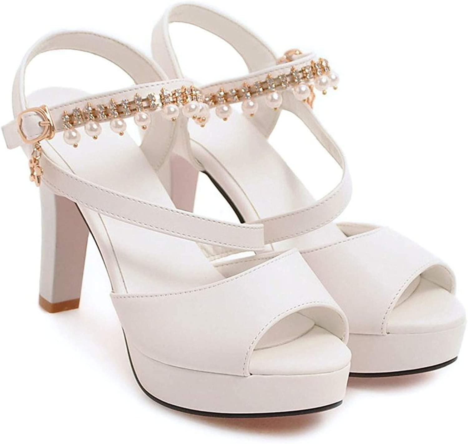 Good-memories pumps Platform shoes with Buckle Extreme high Heels Elegant Solid Casual Woman Sandals
