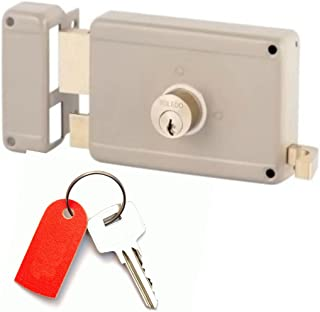 Gate Locks : Deadbolt & Deadlatch Locking : Left Hand Inward Position : Yale Keyway : by TOLEDO