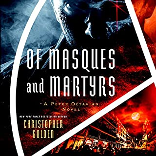 Of Masques and Martyrs audiobook cover art