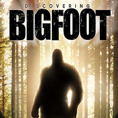 Discovering Bigfoot audiobook cover art