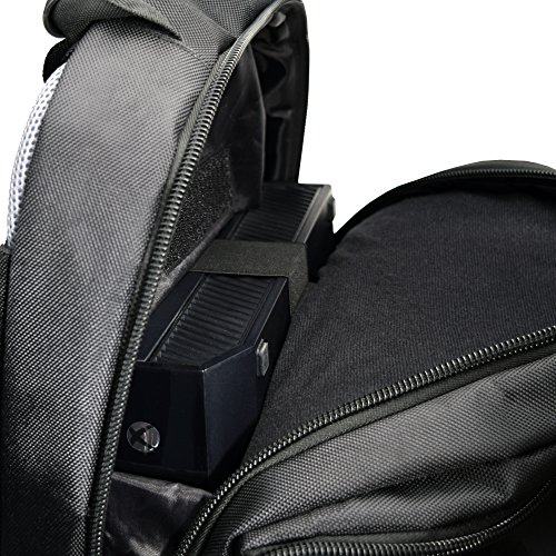 Rolling Universal Gaming Backpack for Xbox One X/S/Playstation 4 Slim/PS4/XB1/XB360/PS3