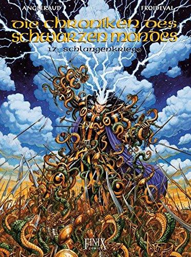 Die Chroniken des schwarzen Mondes: Band 17: Schlangenkriege