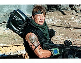 Dolph Lundgren The Expendables Autographed Signed Photo UACC RD AFTAL RACC TS