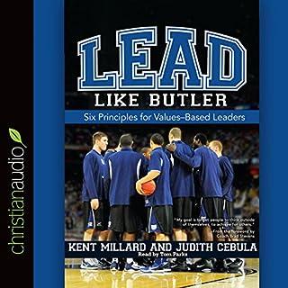 Lead Like Butler audiobook cover art