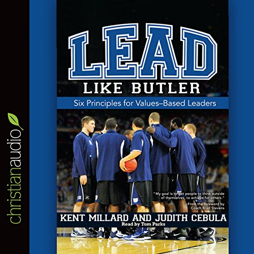 Lead Like Butler audiobook cover art