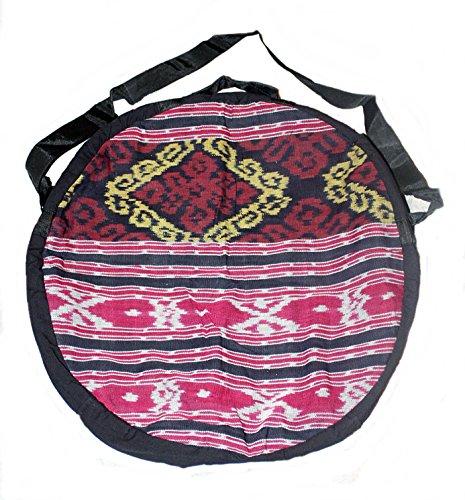 Hejoka-Shop UNIKAT Schamanentrommel Tasche für Trommel 50 cm. Ritual Indian Drum Umhängetasche