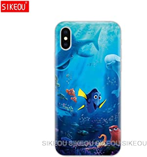 Inspired by finding nemo & dory Phone Case Compatible With Iphone 7 XR 6s Plus 6 X 8 9 Cases XS Max Clear Iphones Cases TPU Silicone - Vintage Gifts- Cavewoman - Figures Jessie - 32890549748