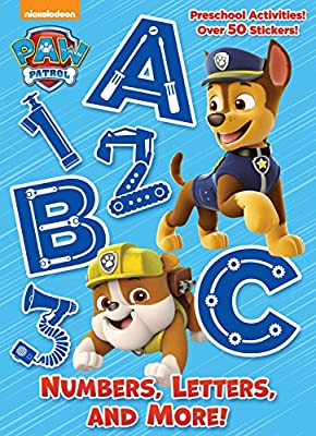 Numbers, Letters, and More! (Paw Patrol) de GOLDEN BOOKS PUB CO INC