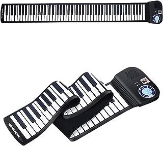 HONEY JOY Roll Up Piano, Portable 88 Key Piano Keyboard, Sof