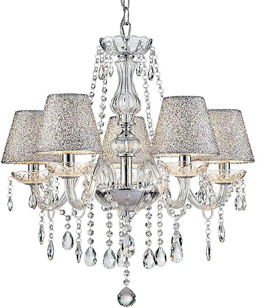 Saint mossi  lampadario moderno in vetro cristallo SM-DY-1711058