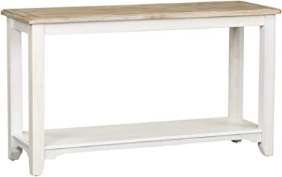 Liberty Furniture Industries Summerville Sofa Table, W52 x D18 x H30, White