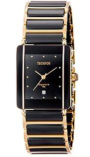 84bd5e10834 Relógio Feminino Technos Elegance Ceramic Sapphire GN10AAPAI 4P
