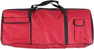 KKmoon 61-Key Keyboard Electric Piano Organ Gig Bag Soft Case Dual Zipper 39.3\ * 15.7\ 600D Cloth PE Foam Padded