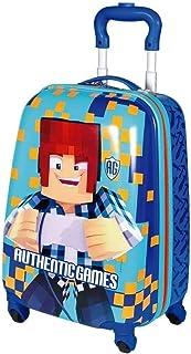 Malinha Mala Escolar Authentic Games 4 Rodinhas 360º Sestini