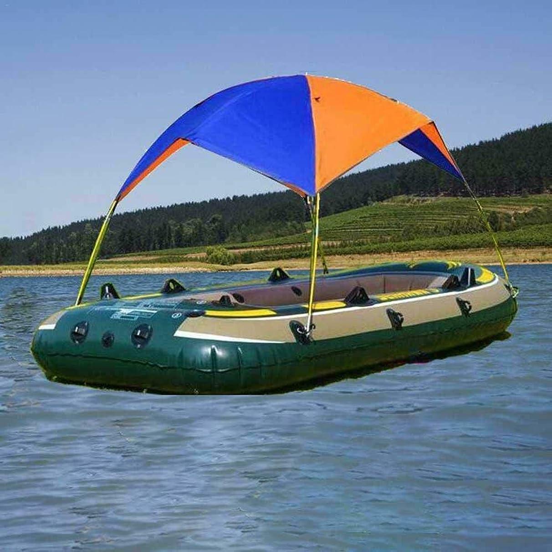 MB-Campstar Inflatable Fishing Boat Shelter Kayak Sun Shade Rain Kit Sail Awning Top Cover