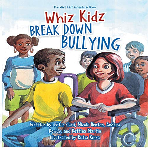 Whiz Kidz Break Down Bullying audiobook cover art
