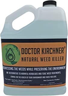 Doctor Kirchner Natural Weed Killer (1 Gallon) No Glyphosate and No Hormone Disrupting Chemicals