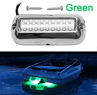 VOFONO Waterproof Ip68 Led Drain Plug Light Underwater Boat Lights Marine Yacht Led Drain Plug Light for Fishing Swimming Divinng
