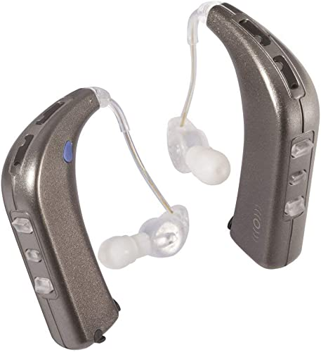 discount Sound World online sale online sale Solutions - Sidekick - Bluetooth Wireless Personal Sound Amplifier (Two Ear Bundle, White Gold Metallic) online