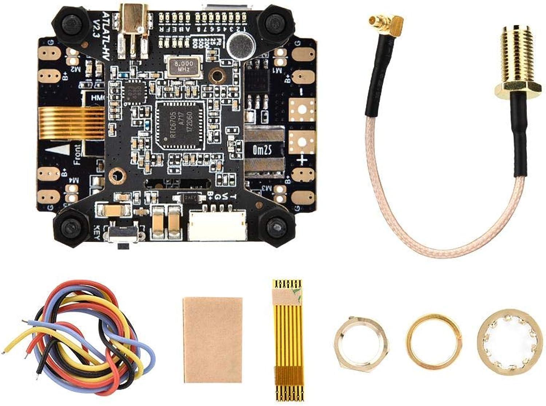 soporte minorista mayorista F4 AIO V2 Controlador de Vuelo Vuelo Vuelo PDB OSD + Atlatl HV V2 40CH Transmisor para RC Drone  barato