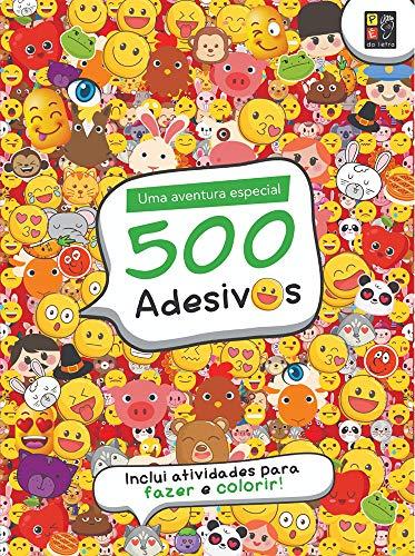500 Adesivos Emotions Divertidos