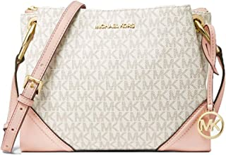 Nicole Large Logo Crossbody Bag