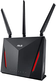 ASUS RT-AC66U B1 AC1750 Dual-Band WiFi Router, AiProtection Lifetime Security by Trend Micro, AiMesh Compatible for Mesh W...