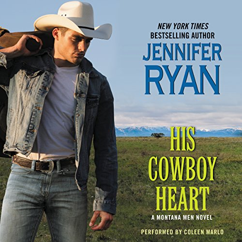 His Cowboy Heart audiobook cover art