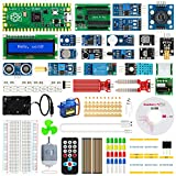 Raspberry Pi Pico Sensor Kit STUUC con 46 Juegos de Accesorios 212 Kit de Aprendizaje de MicroPython con Tutorial Compatible con C/C ++ / Micro-Python para Principiantes de Raspberry Pi
