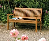 Bosmere Rowlinson A105 Willington Bench, 34' Height x 28' Width x 48' Length