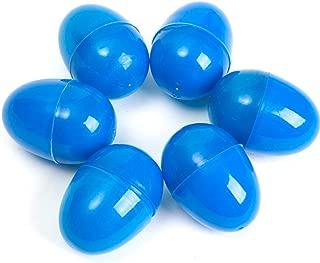 24 BLUE EMPTY EASTER EGGS VENDING, CRAFTS, ETC.