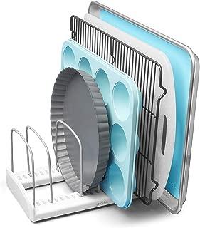 YouCopia 50158 StoreMore Adjustable Bakeware Rack Pan Organizer, Standard
