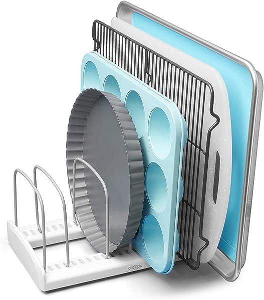 YouCopia 50158 StoreMore Adjustable Bakeware Rack Pan Organizer Standard