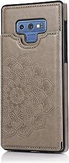 MOONCASE Capa para Samsung Galaxy Note 9, Suave Couro PU Magnéticos Botões Padrão de Mandala À Prova de Choque Flip Cartei...