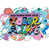 AAA DOME TOUR 2018 COLOR A LIFE(DVD2枚組)