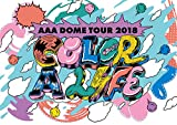 AAA DOME TOUR 2018 COLOR A LIFE[AVXD-92766][Blu-ray/ブルーレイ]