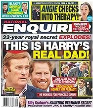 National Enquirer Magazine - March 12, 2018 - Prince Harry - Angelina Jolie - Blake Shelton vs. Gavin Rossdale - Billy Graham
