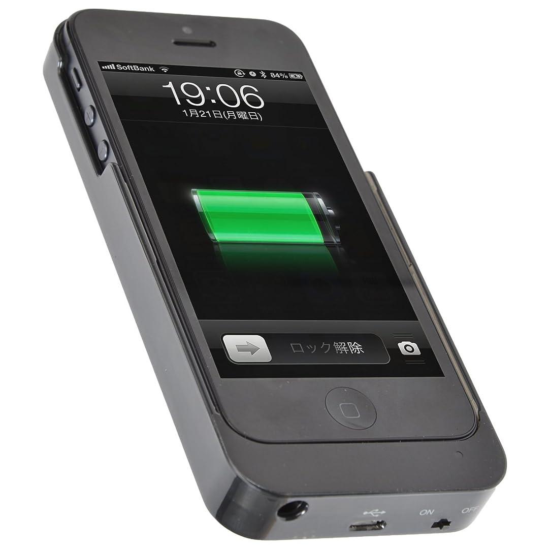 宮殿ゼロ誤ってサンコ- アルコールチェッカー内蔵バッテリーケース for iPhone 5 IPH5ALBA