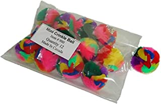 Cancor Innovations 900B Mini Crinkle Ball Cat Toy (12 Pack)