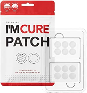 KARATICA I'M CURE, Microneedle 6ea + Hydrocolloid 6ea PATCH Acne Pimple Healing, Salicylic Acid, 12 patches, 1 Sheet